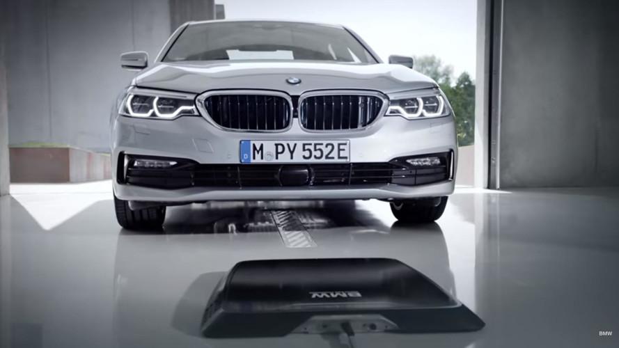 2018 BMW 530e'ye kablosuz şarj özelliği geliyor