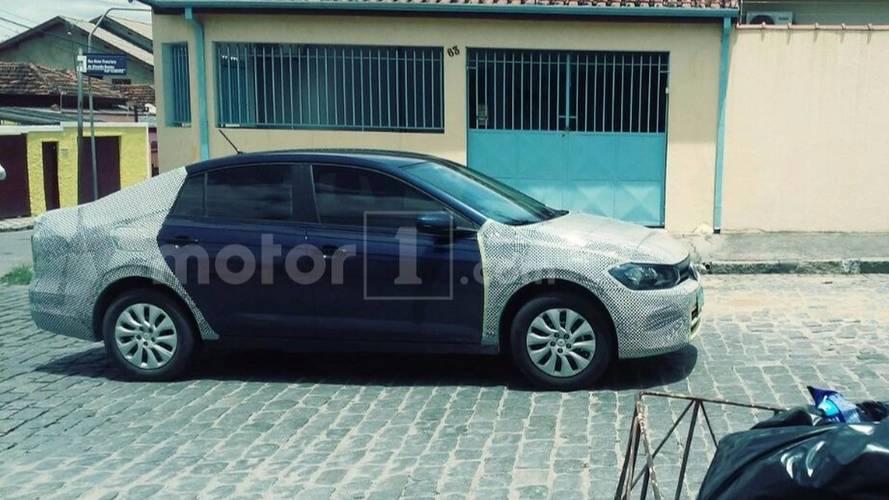 Flagra - Volkswagen Virtus será revelado neste mês