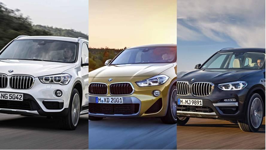 BMW X1 vs. X2 vs. X3 | Rakamlarla Kardeş Kapışması