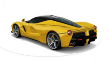 LaFerrari in Giallo Modena yellow, color configurator screenshot 800