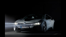BMW i8, fari laser