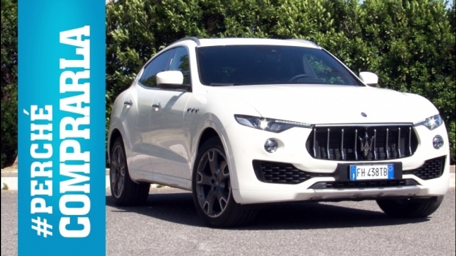 Maserati Levante, perché comprarla… e perché no [VIDEO]