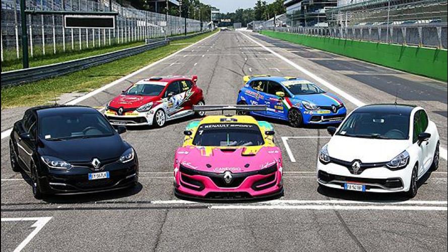 Renault Sport, a Monza per un'overdose di adrenalina