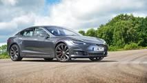 Tesla Model S P100D with ludicrous mode