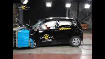 Hyundai i10, 4 stelle nei crash test, ma solo per gli optional
