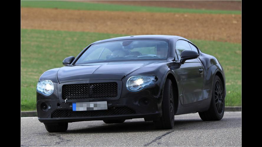 Erlkönig: Bentley Continental GT (2017)