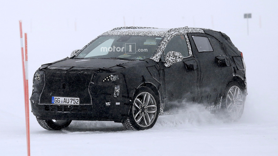 2019 Cadillac XT4 Keeps Full Body Camo In New Spy Shots