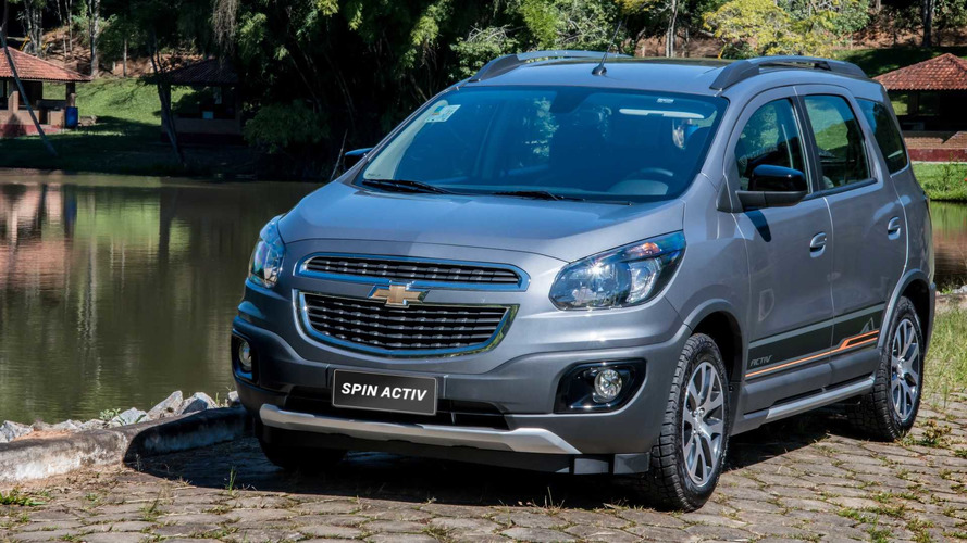 Chevrolet Spin 2018 chega com nova geração do MyLink