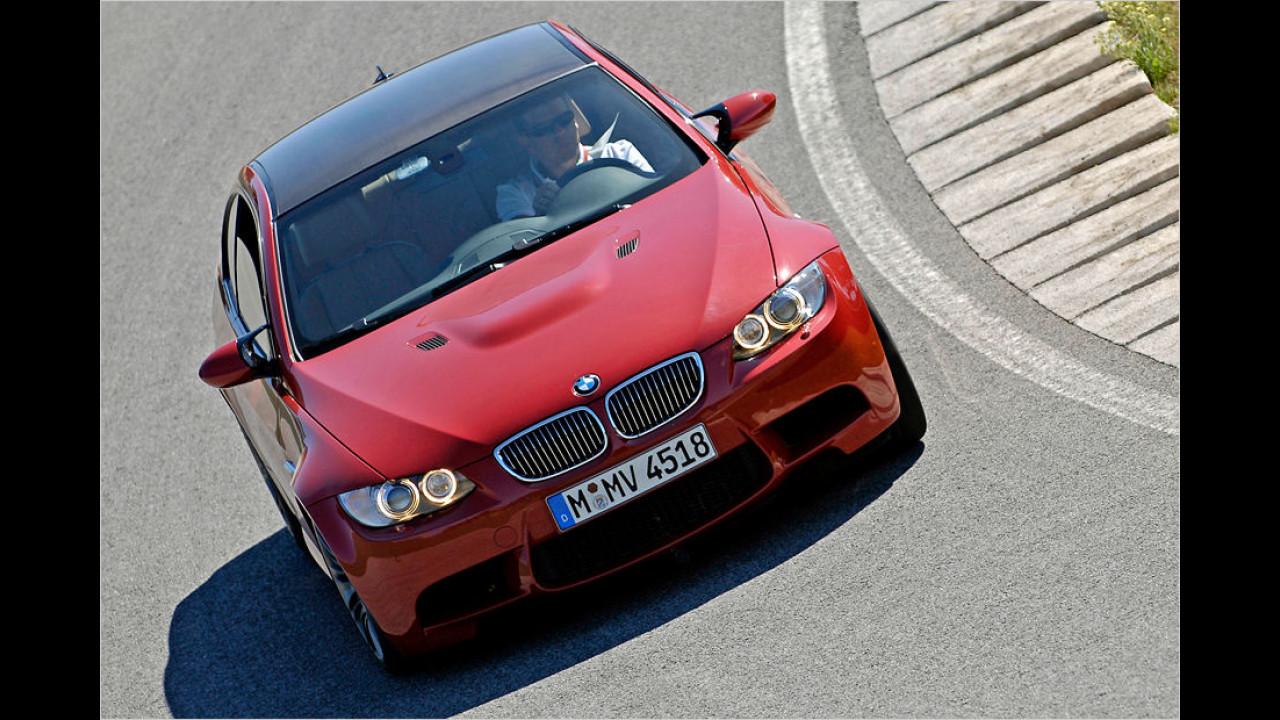 Platz sechs: BMW M3 Coupé