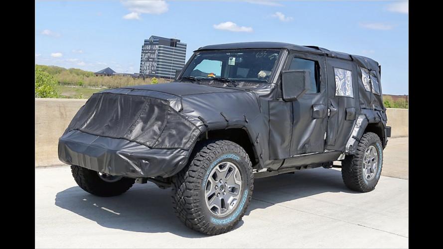 Der Wrangler bleibt ein Jeep