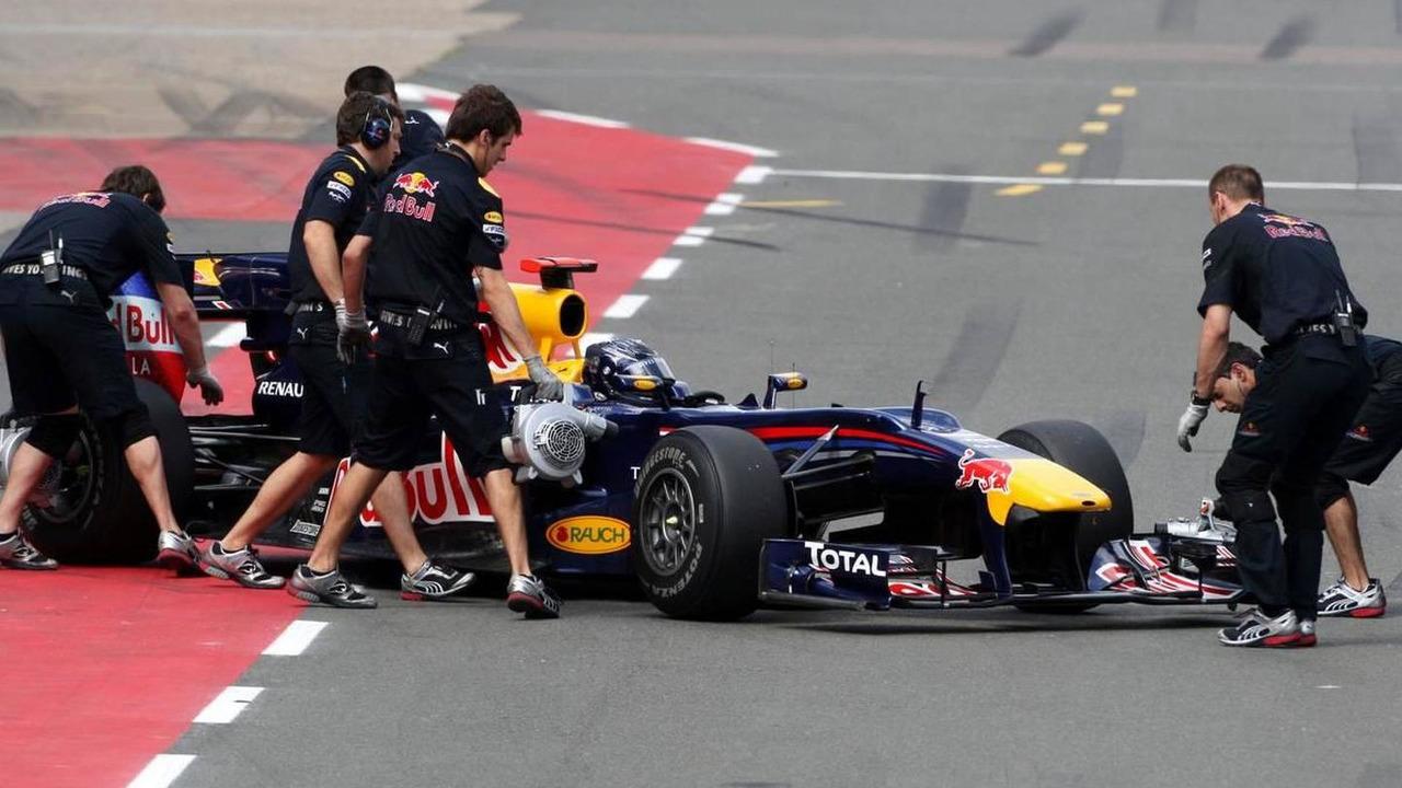 Sebastian Vettel (GER), Red Bull Racing, British Grand Prix, Saturday Practice, 10.07.2010 Silverstone, England