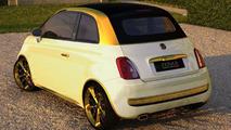 Fiat 500C La Dolce Vita Gold and Diamonds by Fenice Milano 18.01.2011
