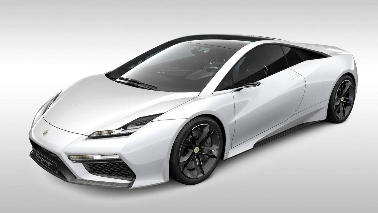 2013 Lotus Esprit Modified concept