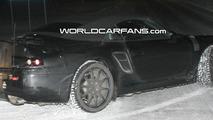 Porsche 911 (998) Carrera Cabrio Spy Photo at Night