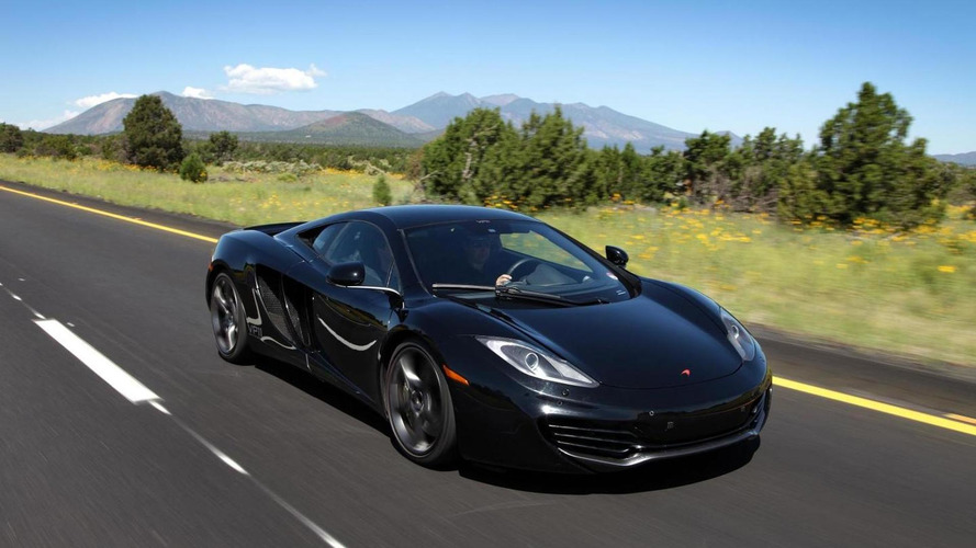 McLaren announces MP4-12C pricing in Europe