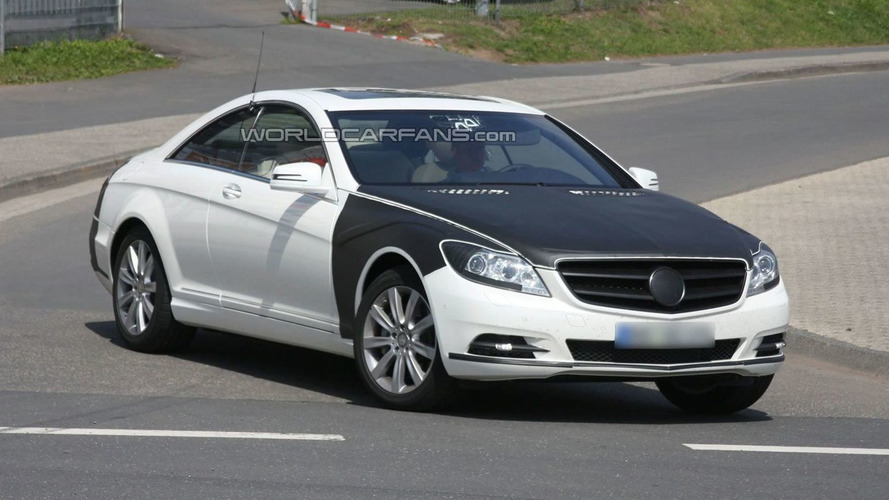 New Mercedes S-Class Coupe Returns for Latest Round of Testing