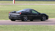 Ferrari F450 full body prototype spied for first time