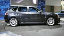 Subaru WRX-STi at Los Angeles Motor Show