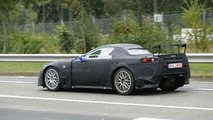 Lexus LF-A Spyder Spy Photos