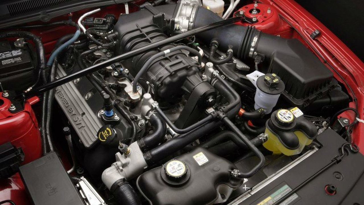 2007 Ford Shelby GT500 Engine