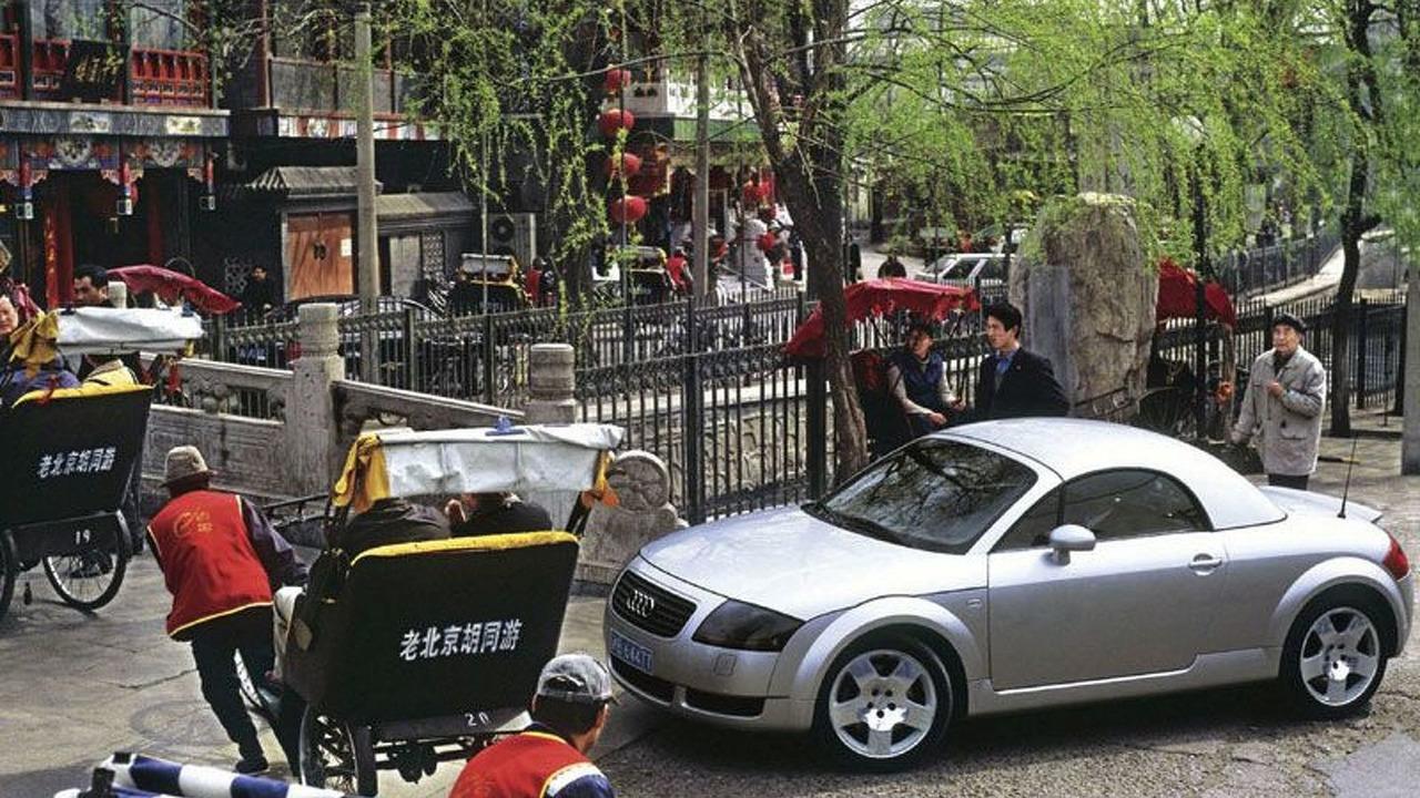 Audi TT in China