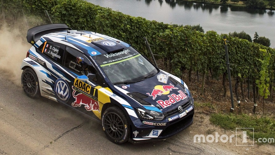 Sébastien Ogier (Volkswagen) renoue avec la victoire au Rallye d'Allemagne