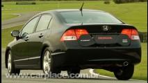 Honda lança oficialmente o New Civic 2009 - Preço inicial sobe para R$ 64.365