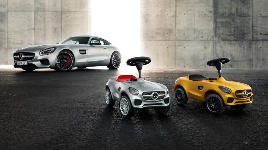 Mercedes dévoile les AMG GT Bobby-Benz, ses porteurs pour enfants