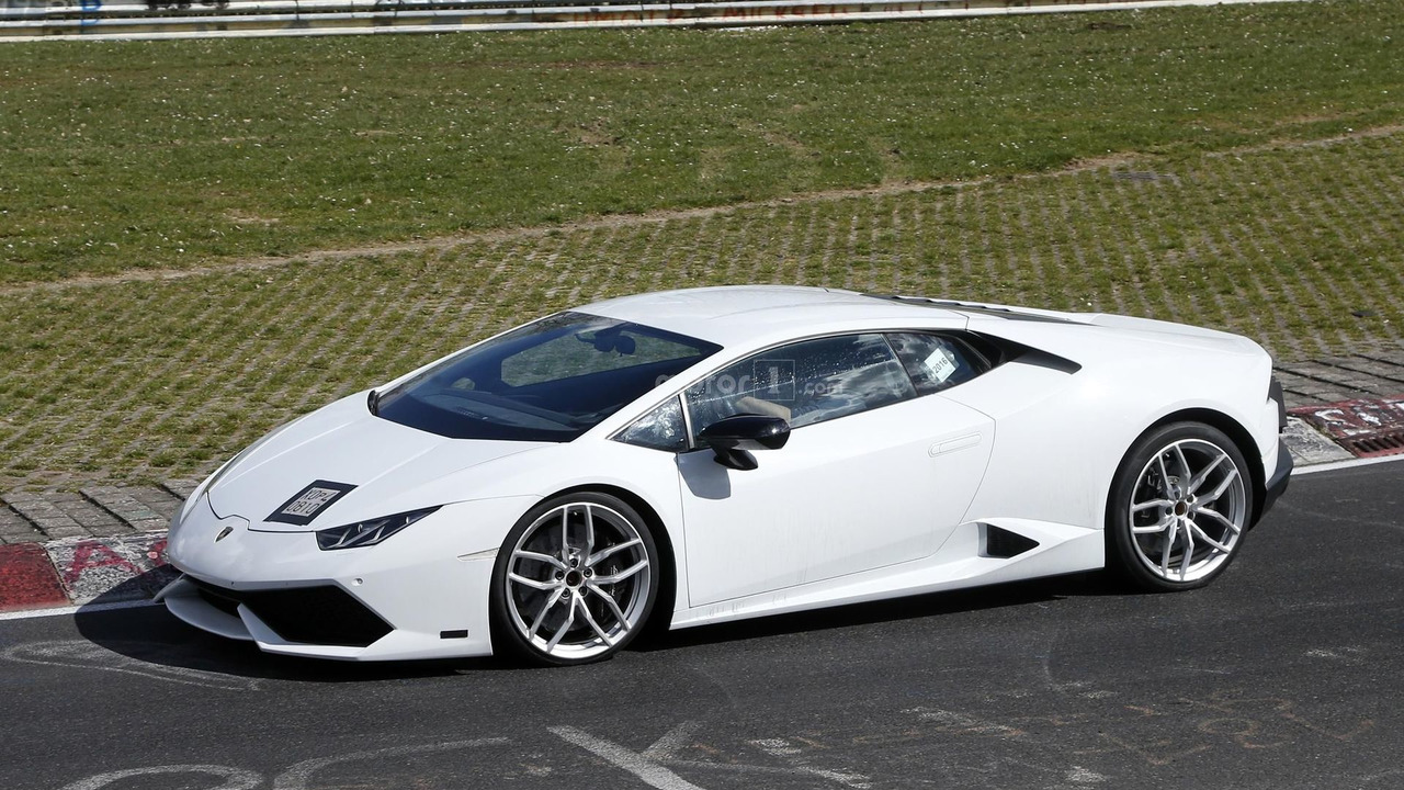 lamborghini testing go faster huracan at the ring. Black Bedroom Furniture Sets. Home Design Ideas