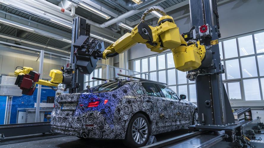 2017 BMW Série 5 2017 contrôle qualité
