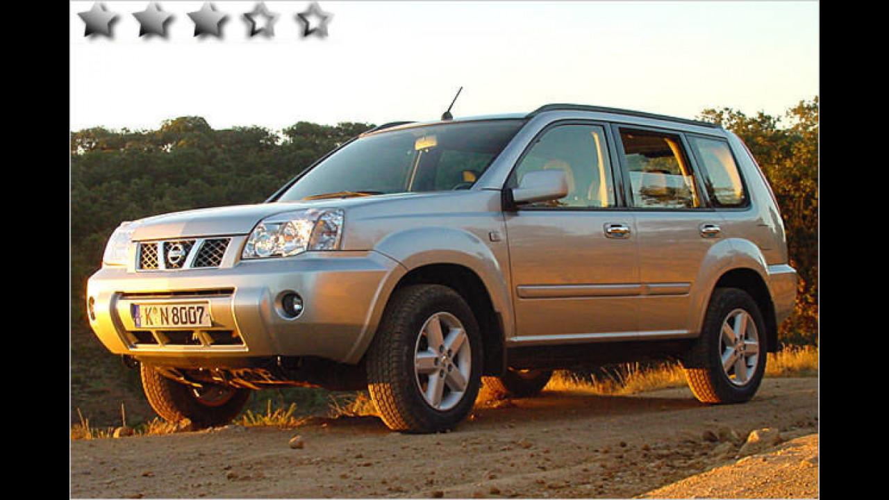 Nissan X-Trail 2.5 Elegance: 50 Punkte