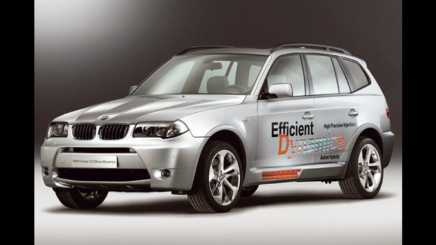 BMW Hybrid-Forschung: Mit der Kraft der zwei Motoren