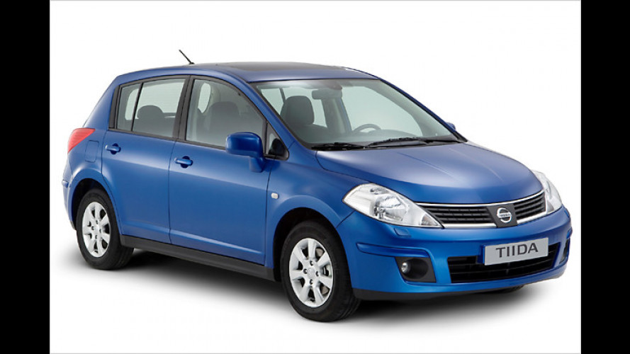 Ab Januar 2008: Neuer Nissan Tiida soll den Almera ersetzen