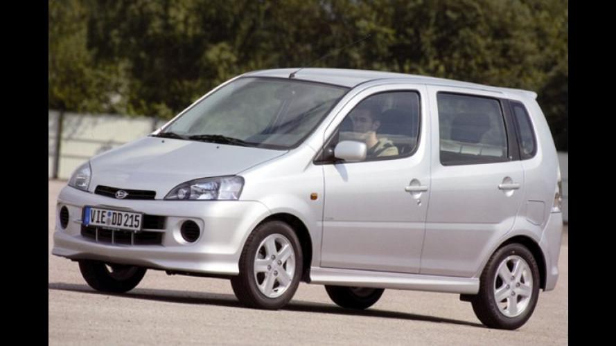 Daihatsu YRV Top Edition: Mehr Extras, weniger Euro