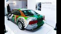 BMW 850 CSi David Hockney Art Car