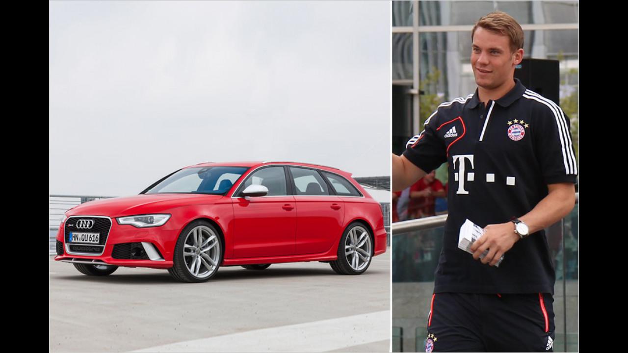 Manuel Neuer: Audi RS 6 Avant
