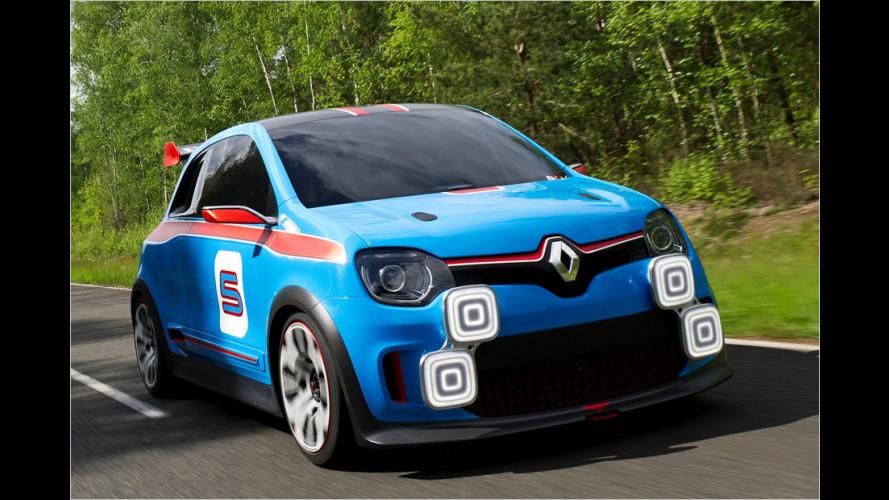 Renault Twin'Run: Ab durch die Mitte
