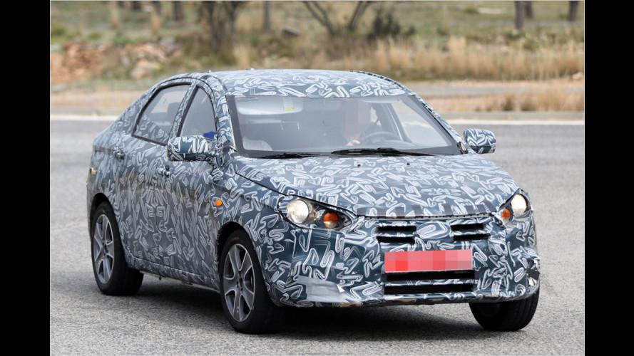 Erlkönig: Dacia Logan II oder Lada?