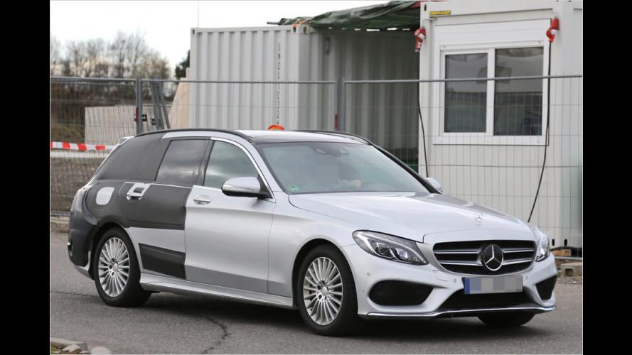 Erwischt: Mercedes C-Klasse T-Modell