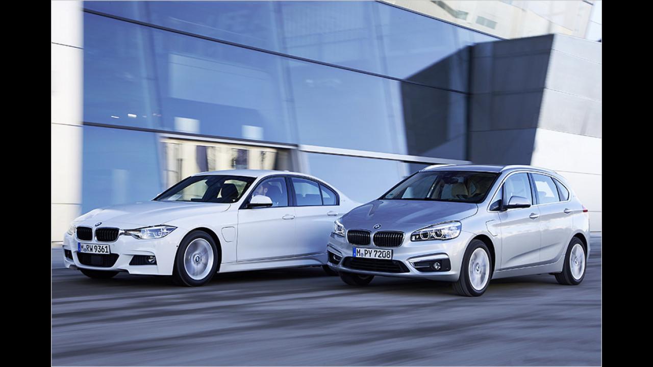 Neue BMW-Plug-ins im Test