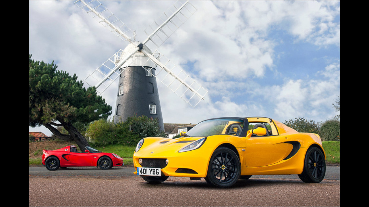 Platz 7: Lotus Elise Sport, 1.117 Millimeter Höhe