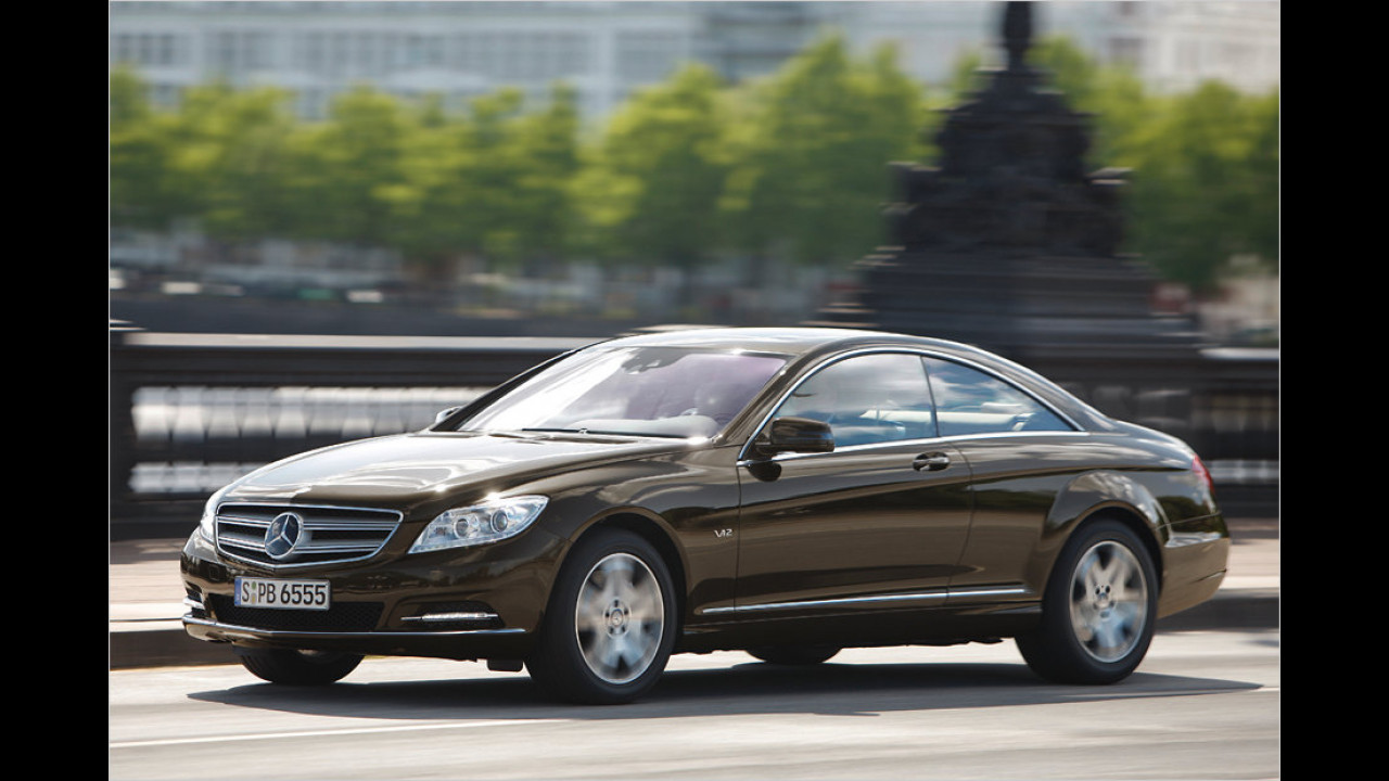 Flop: Mercedes CL-Klasse