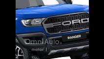 Ford Ranger Raptor 2018 rendering