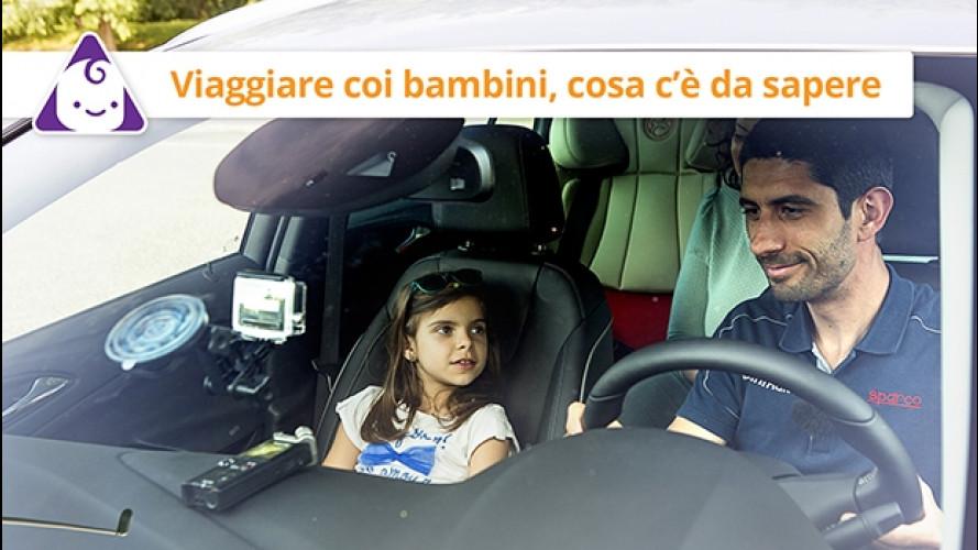 Viaggiare con i bambini in auto, cosa c'è da sapere [VIDEO]