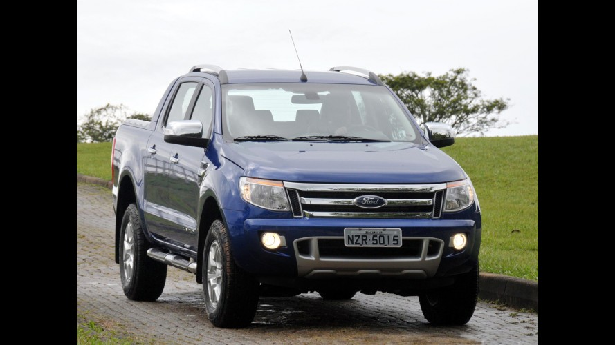 Ford Ranger é eleita Picape Internacional do Ano