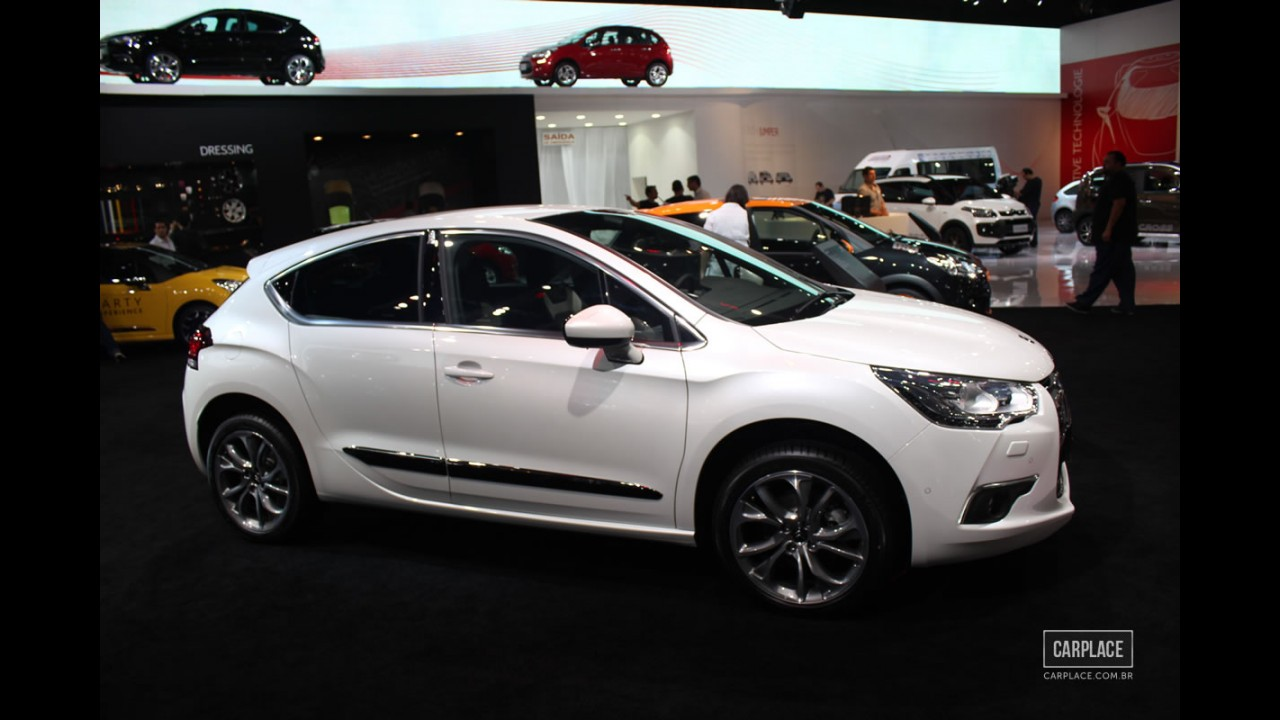 Salão do Automóvel: Citroën apresenta o DS4 e DS5 no Brasil - Vendas começam em 2013
