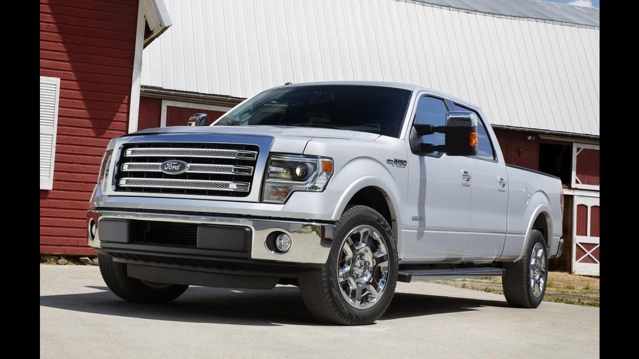 Ford antecipará visual da próxima geração da F-150 com conceito no Salão de Detroit