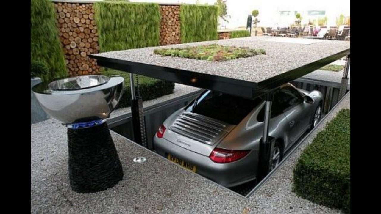 Tecnologia a favor do espaço: Garagem inteligente possibilita mais de um carro no mesmo lugar