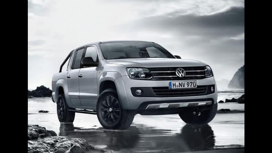 Volkswagen Amarok ganha edição especial Dark Label na Europa