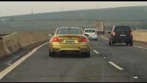 Flagra: novo BMW M4 já acelera em testes no Brasil